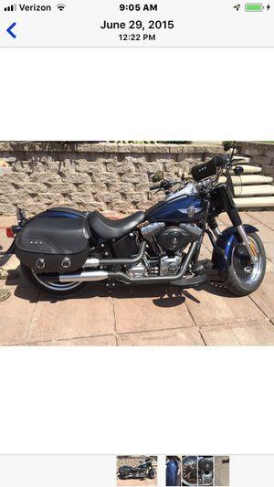 2012 Harley Davidson Fat Boy Low for Sale in Deerton, MI