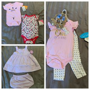 Baby Girl Clothes Lot Size 6 Months for Sale in Orlando, FL