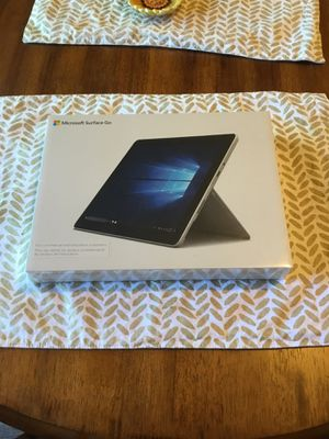 New 64GB Microsoft Surface Go - Still Sealed for Sale in Tacoma, WA