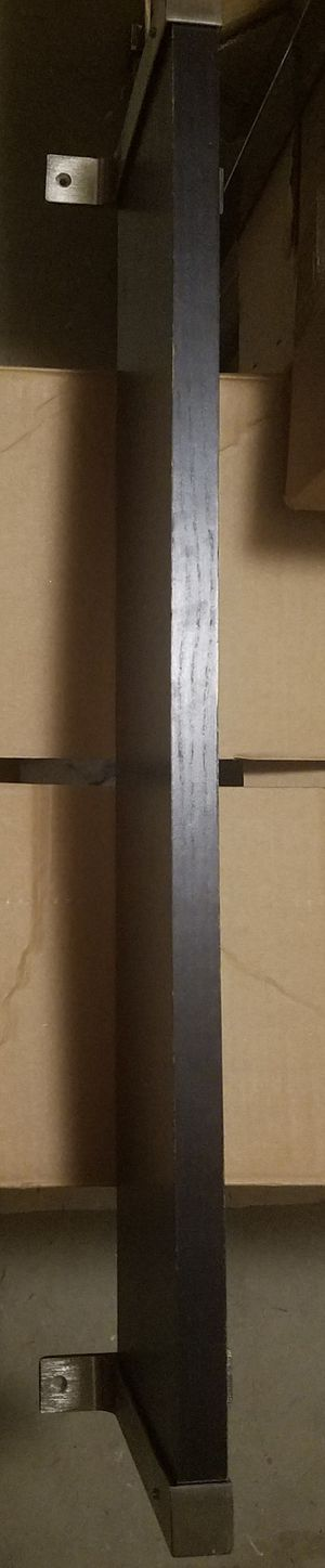 Dark brown wall shelf for Sale in Bethesda, MD
