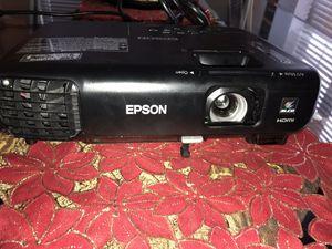 Epson PowerLite 1222 - Portable XGA 3LCD Projector - 3000 lumens - Black for Sale in Washington, DC