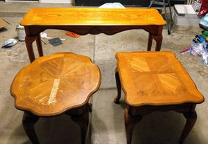 Two Coffee Tables and a Sofa/Entryway Table **Pending Pick-Up** for Sale in Chandler, AZ