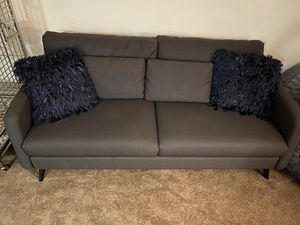 Gray couch for Sale in Pasadena, CA