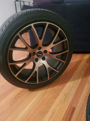 4 20in bronze and black rims. for Sale in Downers Grove, IL
