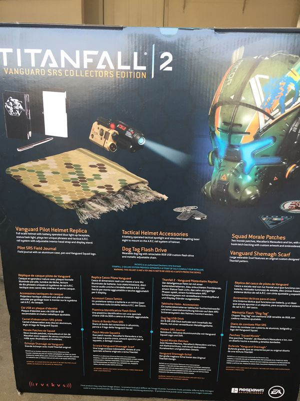 Titanfall 2 Vanguard SRS Collectors Edition Pilot Helmet Replica for Sale  in Upland, CA - OfferUp