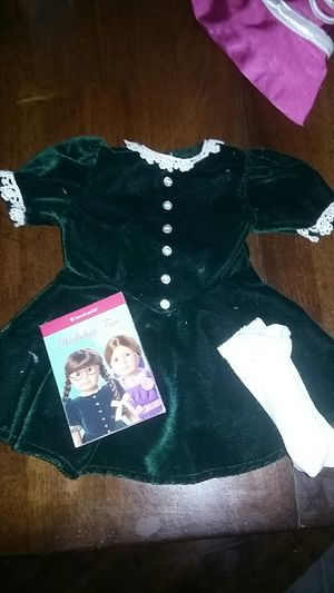 American Girl Doll Molly Christmas Outfit. for Sale in Costa Mesa, CA
