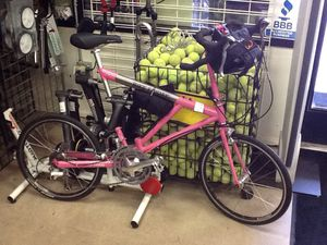 Bike Friday Air Friday 27 Speed Folding Road Bike w/ Travel Bag for Sale in Phoenix, AZ