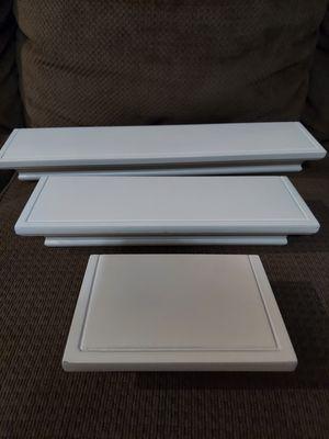 Floating shelves white for Sale in Houston, TX