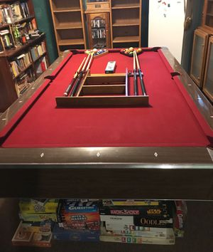 Pool table with accessories (Price drop) for Sale in Saint Joseph, MO