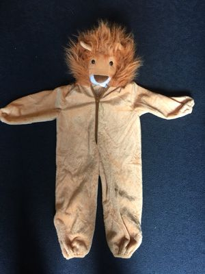 Lion Halloween Costume (size 3T) for Sale in Herndon, VA