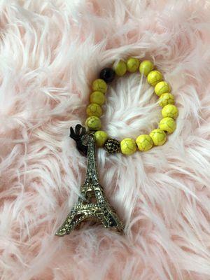 Yellow & Black Paris Bracelet for Sale in Cumming, GA