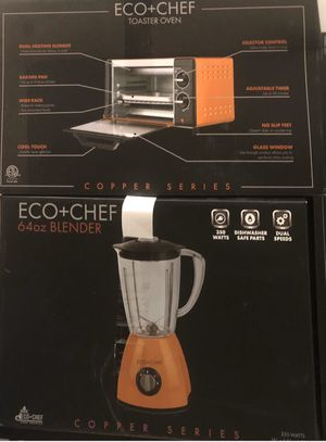 Eco + Chef NEW Bronze Orange and black - Set or individual pieces for Sale in Phoenix, AZ