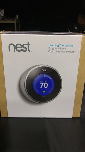 Nest learning thermostat for Sale in City of Industry, CA