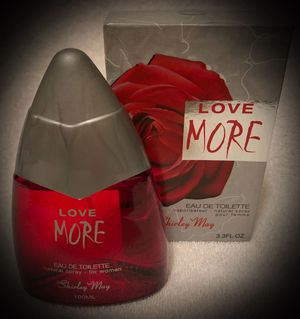 SUMMER SALE! Love More RARE Shirley May EDT Eau de Toilette Perfume Spray - Made in UAE United Arab Emirates - Lux Full Size 3.3/3.4 fl oz/100ml for Sale in San Diego, CA