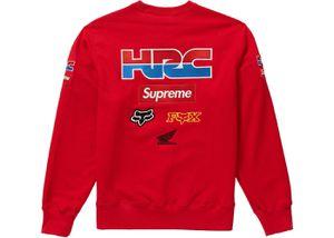 Supreme X Honda Racing company crewneck size large red for Sale in Alexandria, VA