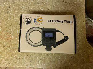 LED Light Ring Flash for DSLR Camera for Sale in Hesperia, CA