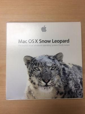 Mac OS X 10.6 Snow Leopard Original Install DVDs for Sale in Las Vegas, NV