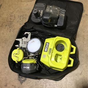 Ryobi Light With Battery And Charger for Sale in Fountain Valley, CA