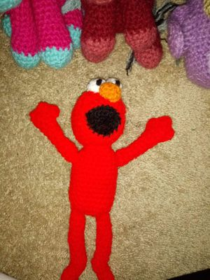 Elmo crochet for Sale in Fort Wayne, IN