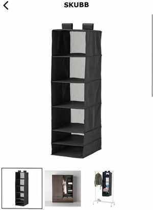 IKEA - All 3 Clothes Organizer for Closet Dresser (6 compartments each) for Sale in Chicago, IL