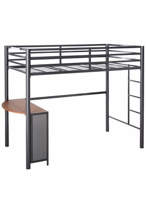 Twin Metal Workstation Loft Bed / bunk bed / bunkbed for Sale in Issaquah, WA