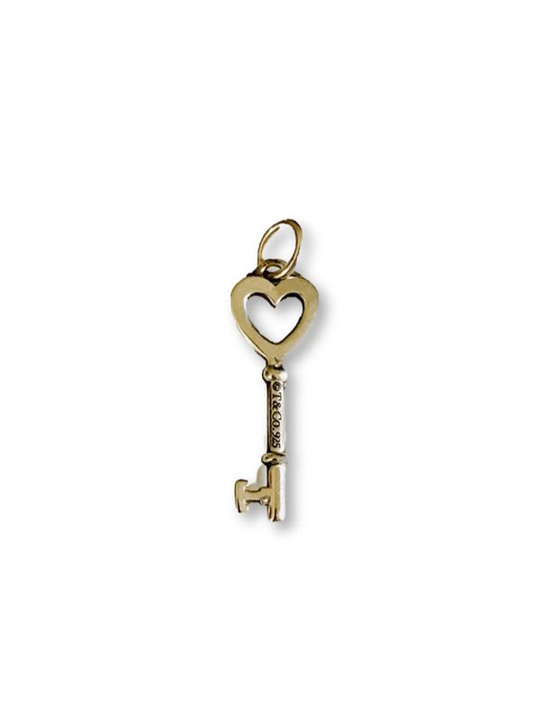 Tiffany and Co key pendant/charm