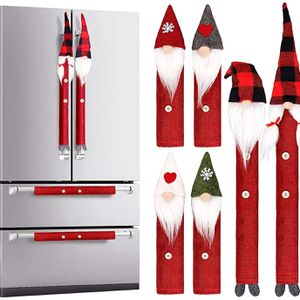 INNOVAZE Christmas Decoration Gnomes Refrigerator Handle Cover Set of 8, Christmas Kitchen Appliance Supplies Microwave Oven Dishwasher Handle Cover P for Sale in Paradise Valley, AZ