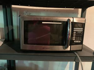Emerson Stainless Steel Microwave 0.9 cu. ft. 900-watt for Sale in Saint Charles, MO