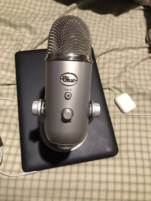 Blue Yeti USB microphone for Sale in Lanham, MD