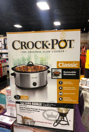 Crock Pot 7 QT. Stainless Steel for Sale in Fresno, CA