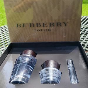 Original perfume touch for men 3pcs set big size by burberry for Sale in Rialto, CA