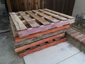 48x48 Wood Pallets - all 5 for price for Sale in San Jose, CA