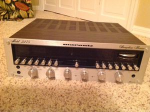 Marantz receiver, vintage for Sale in Port St. Lucie, FL