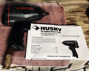 """Like New Husky Brand 1\2"""" Impact Wrench, Model HSTC-4103 for Sale in Mt. Juliet, TN"""
