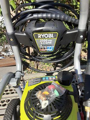 Ryobi Honda Pressure Washer 3100 psi for Sale in San Antonio, TX