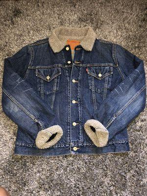 Levis Denim Jacket size medium for Sale in Woonsocket, RI