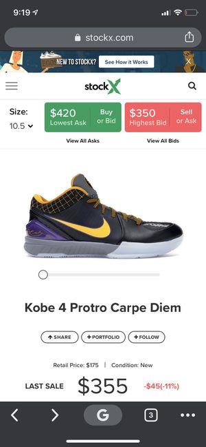 Kobe 4 for Sale in Diamond Bar, CA