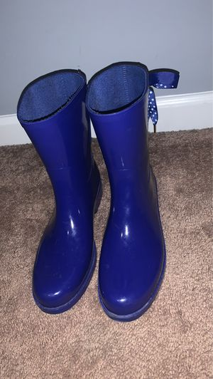 Crown Ivory lace rain boots for Sale in Knightdale, NC