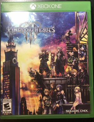 Kingdom hearts 3 (brand new ) never used for Sale in Palm Beach Gardens, FL
