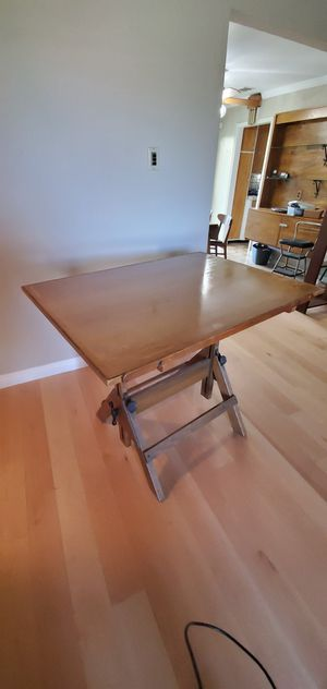Vintage Hamilton Drafting Table for Sale in West Menlo Park, CA