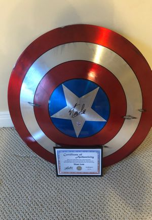 Stan Lee signed shield Movie Used for Sale in Washington, DC