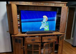 Wooden TV stand for Sale in Denver, CO
