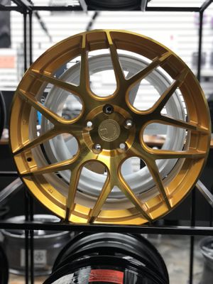 "19"" aodhan gold wheels rims tires fit Honda Accord civic crv Pilot Acura TL tsx tlx ilx mdx rdx Nissan Maxima Altima Infiniti Sentra g35 g37 q50 q60 for Sale in Queens, NY"