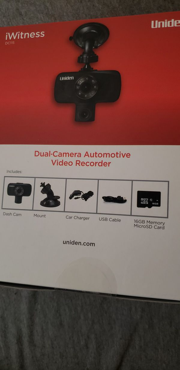 Dual Camera AUTOMOTIVE Video Recorder