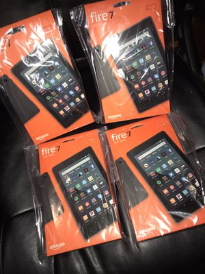 4 AMAZON FIRE 7 TABLET 16 GB'S BRAND NEW!! for Sale in Baltimore, MD