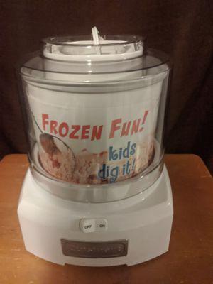 Frozen yogurt, ice cream, sorbet maker. for Sale in Smithfield, RI