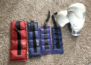 Adjustable Wrist & Ankle Cuff Weights - for Sale in Tacoma, WA