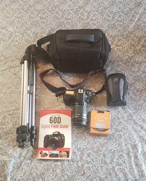 Cannon 60D Camera Bundle for Sale in Zephyrhills, FL
