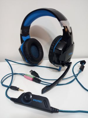 Arkartech Gaming Headphones. PC, Xbox One PlayStation 4. Great Sound! USB Connection/3.5 Aux/etc. for Sale in San Antonio, TX