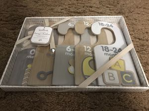 Baby Wooden Clothes Dividers—-great for baby showers! for Sale in Bloomingdale, IL